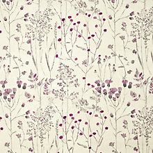 Buy John Lewis Lara Curtain, Purple Online at johnlewis.com