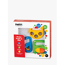 Buy Halilit Shake, Jingle & Roll Musical Set Online at johnlewis.com