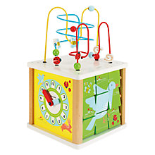 Buy John Lewis Baby Large Activity Cube Toy Online at johnlewis.com