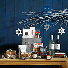 Buy John Lewis Connoisseur's Cube Hamper Online at johnlewis.com