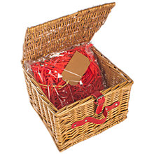 Buy John Lewis Build Your Own Hamper with Lidded Basket Online at johnlewis.com