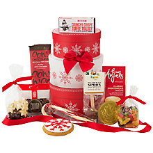 Buy John Lewis Snowflake Stacker Hamper Online at johnlewis.com