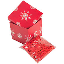 Buy John Lewis Snowflake Build Your Own Gift Box Set Online at johnlewis.com
