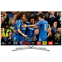 "Buy Samsung UE40H5510 LED HD 1080p Smart TV, 40"" with Freeview HD, White Online at johnlewis.com"