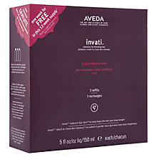 Buy AVEDA Invati Revitalizer Trio Online at johnlewis.com