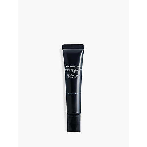 Buy Shiseido Men Total Revitalizer Eye Cream, 15ml Online at johnlewis.com