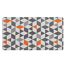 Buy House by John Lewis Triangles In-Bath Mat Online at johnlewis.com