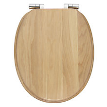 Buy John Lewis FSC Toilet Seat, Limed Oak Online at johnlewis.com