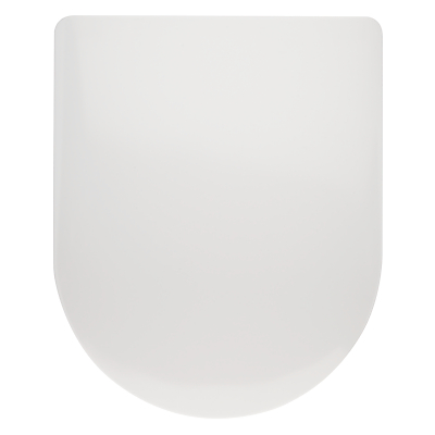 John Lewis Anti Bacterial Toilet Seat, White