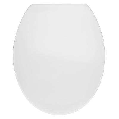 John Lewis Plastic Toilet Seat, White