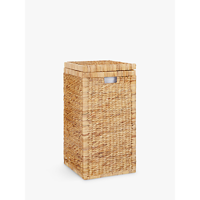 John Lewis Water Hyacinth Laundry Hamper
