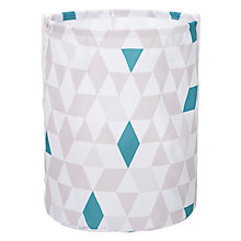 Buy House by John Lewis Triangle Pop-Up Laundry Hamper Online at johnlewis.com