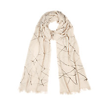 Buy Windsmoor Linea Graphic Print Scarf, Multi Light Online at johnlewis.com
