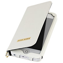 Buy Hugo Boss Gracious Booklet Case for iPhone 5 & 5S, White Online at johnlewis.com