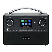 Buy ROBERTS Stream 93i DAB/FM Smart Radio Online at johnlewis.com