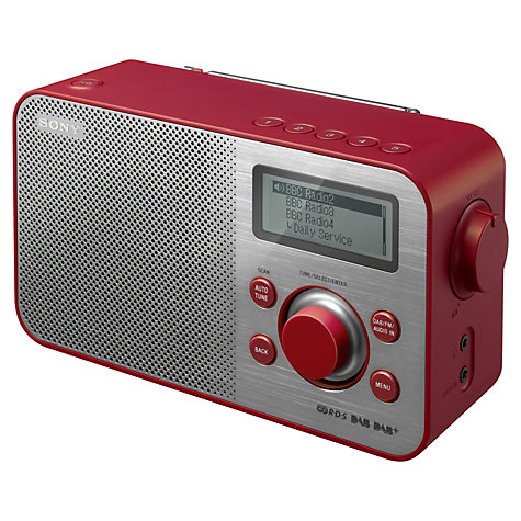 buy sony xdr s60 dab fm digital radio john lewis. Black Bedroom Furniture Sets. Home Design Ideas