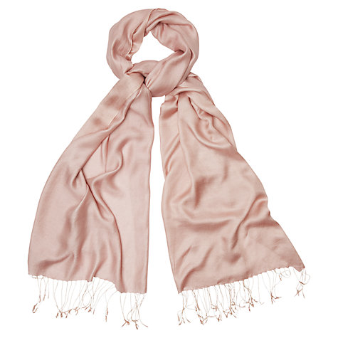 Buy Phase Eight Diamond Weave Wrap Scarf, Lotus Pink Online at johnlewis.com