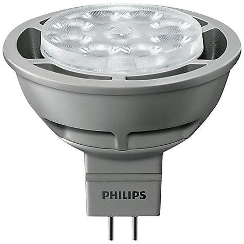 Buy Philips 6.5W MR15 LED Spotlight, Clear Online at johnlewis.com
