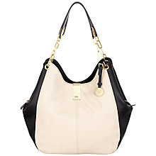 Buy Fiorelli Loretta Hobo Bag, Monochrome Online at johnlewis.com