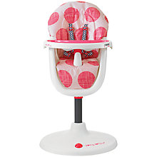 Buy Cosatto 3Sixti Circle Highchair, Macaroon Online at johnlewis.com