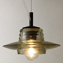 Buy Tom Dixon Pressed Glass Lens Pendant Online at johnlewis.com