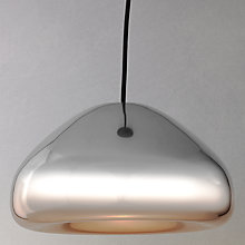 Buy Tom Dixon Void Pendant, Steel Online at johnlewis.com