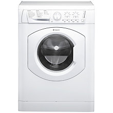 Buy Hotpoint HFEL521P Slim Depth Freestanding Washing Machine, 5kg Load, A+ Energy Rating, 1200rpm Spin, White Online at johnlewis.com