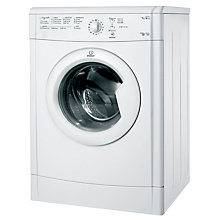Buy Indesit IDVL75BR Vented Tumble Dryer, 7kg Load, C Energy Rating, White Online at johnlewis.com