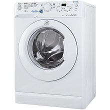 Buy Indesit XWD71452W Washing Machine, 7kg Load, A++ Energy Rating, 1400rpm Spin, White Online at johnlewis.com