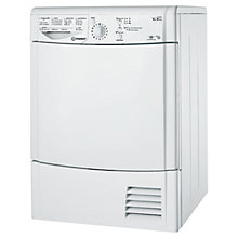 Buy Indesit IDCL85H Condenser Tumble Dryer, 8kg Load, B Energy Rating, White Online at johnlewis.com
