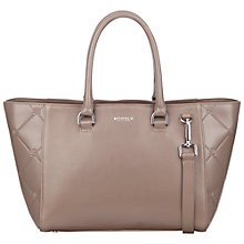 Buy Modalu Warwick Small Leather Grab Bag Online at johnlewis.com