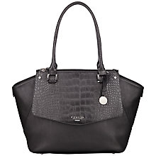 Buy Fiorelli Nova Triple Shopper Bag, Black Online at johnlewis.com