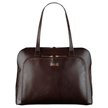 Buy Radley Pippin Large Leather Work Tote Bag, Brown Online at johnlewis.com
