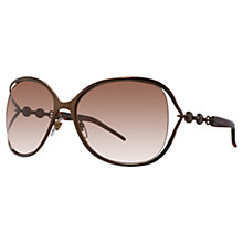 Buy Gucci GG4250/S Metal Chain Sunglasses Online at johnlewis.com