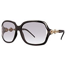 Buy Gucci GG3584/N/S Crystal Marina Chain Sunglasses Online at johnlewis.com