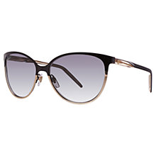 Buy Gucci GG4255/S Metal Oval Sunglasses Online at johnlewis.com