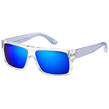 Buy Marc by Marc Jacobs MMJ096/N/S Square Sunglasses, Blue Online at johnlewis.com
