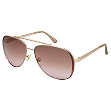 Buy Michael Kors ML2064S Kendall Aviator Frame Sunglasses Online at johnlewis.com