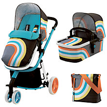 Buy Cosatto Giggle 2 Hold Special Edition Pushchair, Carrycot and Changing Bag, New Wave Online at johnlewis.com