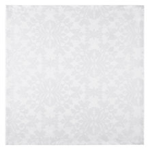 Buy John Lewis Pemberley Damask Napkins, Set of 4, White Online at johnlewis.com