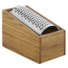 Buy Sagaform Oak Cheese Grater Online at johnlewis.com