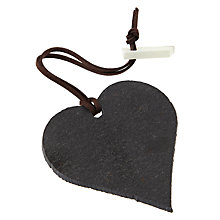 Buy Sparq Wine Notes Heart Wine Tag Online at johnlewis.com