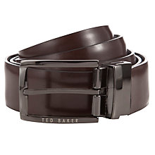 Buy Ted Baker Talyhoe Belt in Box, One Size, Black Online at johnlewis.com