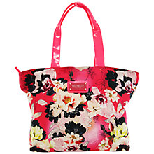 Buy Seafolly Kabuki Bloom Beach Bag, Raspberry Online at johnlewis.com