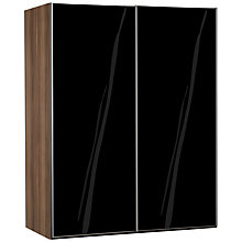 Buy John Lewis Elstra 150cm Wardrobe with Glass Sliding Doors Online at johnlewis.com