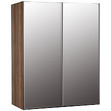 Buy John Lewis Elstra 150cm Wardrobe with Mirrored Sliding Doors Online at johnlewis.com