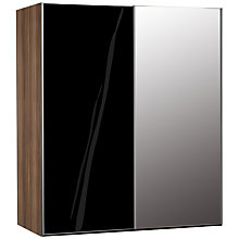 Buy John Lewis Elstra 200cm Wardrobe with Glass and Mirrored Sliding Doors Online at johnlewis.com