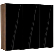 Buy John Lewis Elstra 250cm Wardrobe with Glass Sliding Doors Online at johnlewis.com