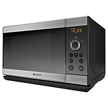 Buy Hotpoint MWH2321X Microwave Oven, Stainless Steel Online at johnlewis.com
