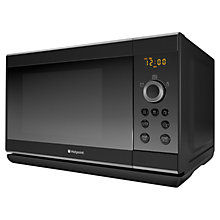 Buy Hotpoint MWH2322B Microwave with Grill, Black Online at johnlewis.com